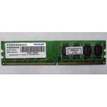 Модуль оперативной памяти 4Gb DDR2 Patriot PSD24G8002 pc-6400 (800MHz)  (Кемерово)
