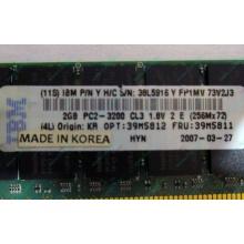 IBM 39M5811 39M5812 2Gb (2048Mb) DDR2 ECC Reg memory (Кемерово)