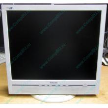"""Б/У монитор 17"""" Philips 170B с колонками и USB-хабом в Кемерово, белый (Кемерово)"""