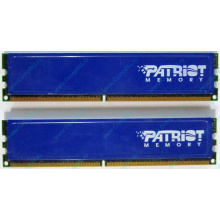 Память 1Gb (2x512Mb) DDR2 Patriot PSD251253381H pc4200 533MHz (Кемерово)