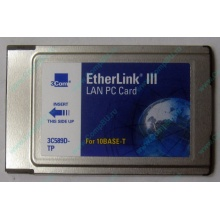 Сетевая карта 3COM Etherlink III 3C589D-TP (PCMCIA) без LAN кабеля (без хвоста) - Кемерово